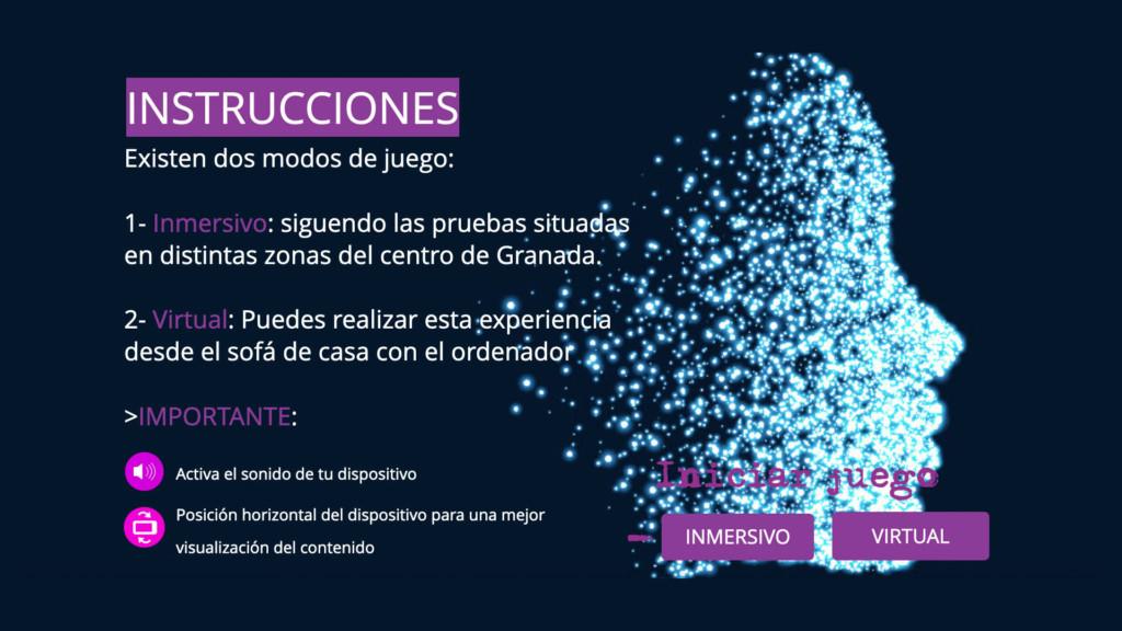 Juego Transmedia Inmersivo Utopi 3 Granada